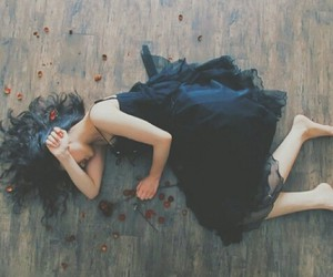 dead, hate, and black drees image