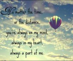 balloon, distance, and love image