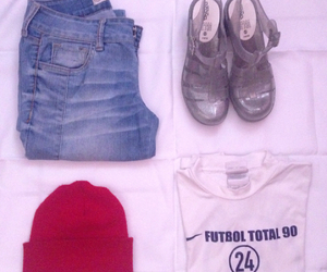 football, girl, and outfit image