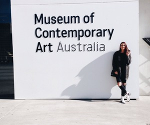 australia, girl, and museum image