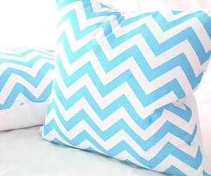 pillow, blue, and white image