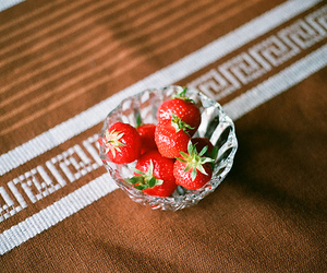 food, red, and yumy image