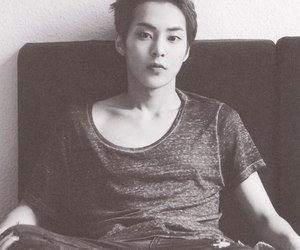 xiumin, exo, and exo-m image