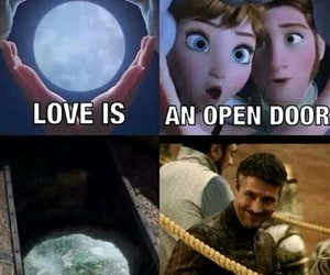 anna, frozen, and hans image