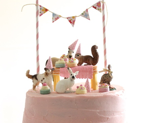 animals, party, and pink image