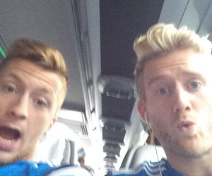 germany, marco reus, and andre schürrle image