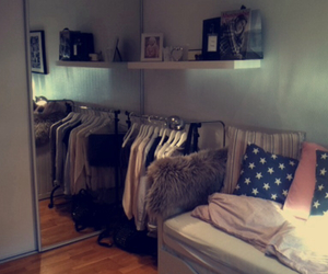 bedroom, clothes, and pic image