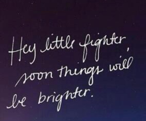quote, fighter, and brighter image