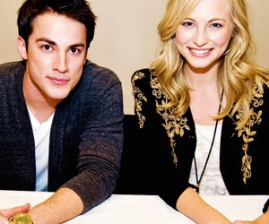 the vampire diaries, forwood, and tvd image