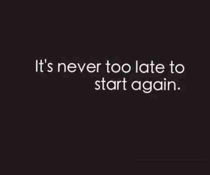 quote, never, and start image
