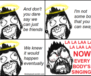 rage comic and if it means a lot to you image