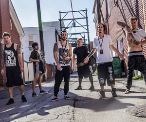 crown the empire, bands, and boys image
