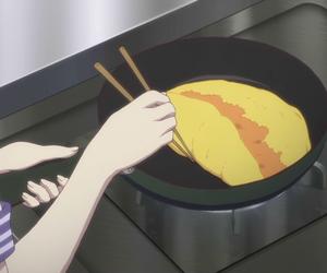 anime, bento, and cooking image