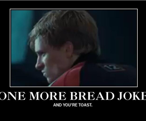 joke, lol, and peeta mellark image