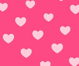 background, hearts, and phone image