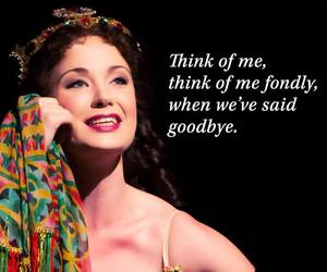 broadway, Phantom of the Opera, and christine daae image
