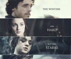 game of thrones, stark, and arya stark image