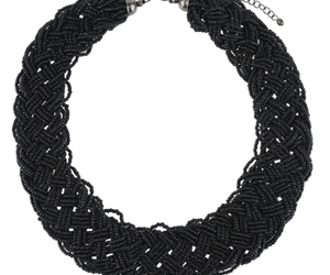 accesories, beads, and black image