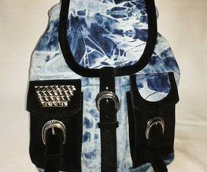 backpack, jean, and tachas image
