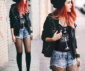 outfit, rock, and luanna perez image