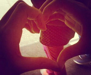 hands, heart, and loveheart image