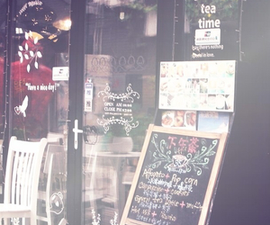 wallpaper and cafe image