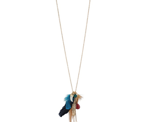 accesories, blue, and feather image