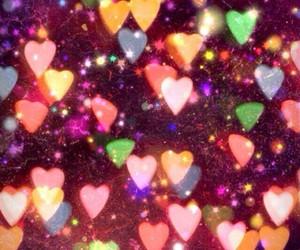 colores, corazon, and glitter image