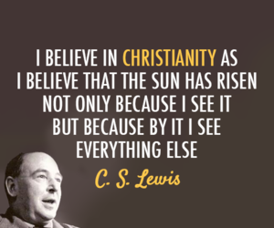 Christianity and cs lewis image