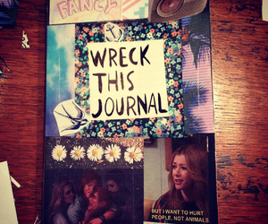 cover, grunge, and wreckthisjournal image
