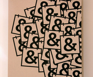 ampersand and typography image