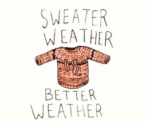 sweater, autumn, and sweater weather image