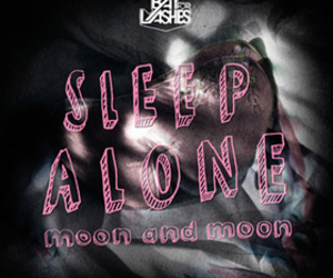 bat for lashes, sleep alone, and moon and moon image