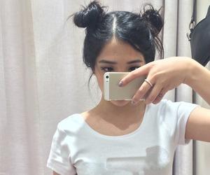 shes beautiful and leia buns image