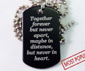 long distance, together forever, and love image
