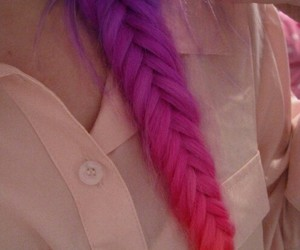 color, hair, and pink image