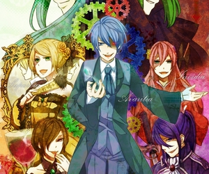 vocaloid, kaito, and gumi image