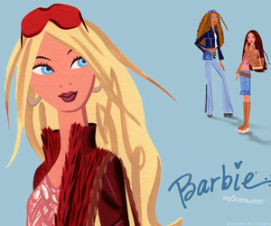 barbie, fashion, and illustration image