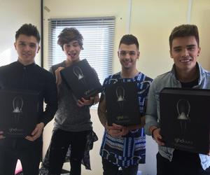 handsome, union j, and josh cuthbert image