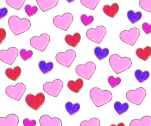 cute, background, and heart image