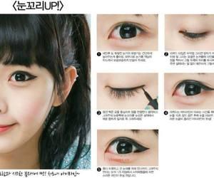 ulzzang, eyeliner, and korean image