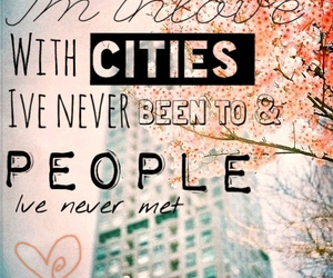 cities, quote, and photo edit image