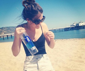 maia mitchell and beach image