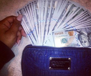 money, nails, and wallet image