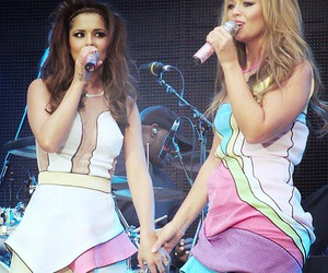 cheryl cole, girls aloud, and best friends image
