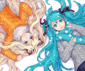 vocaloid, seeu, and anime image