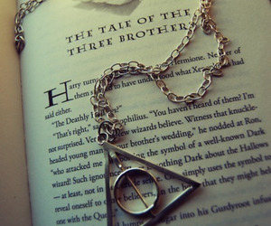 hp, the deathly hallows, and 3brothers image