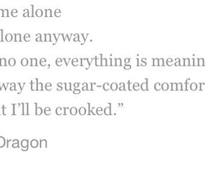 crooked, sad, and sugar coated comfort image