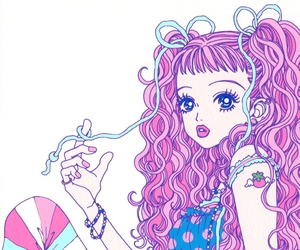 paradise kiss, pink, and manga image