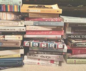 books, fiction, and hipster image